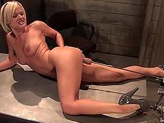 Jasmine Jolie gets an orgasm while..