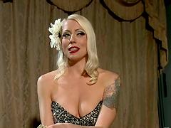 Dominatrix Blonde Fucking Lorelei Lee..