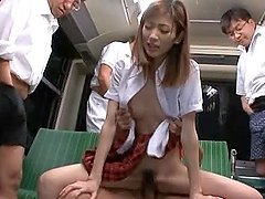 Slutty Kaori Maeda having wild public..