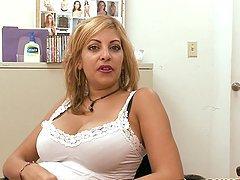 Busty Puerto Rican MILF Gets Her Big..