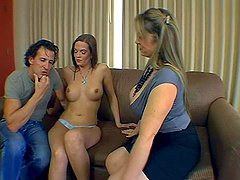 Anita the Milf threesome anal and cock..