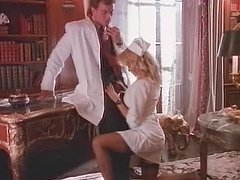Smoking hot blond nurse Tori gets..