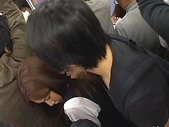 Azumi Mizushima gets her ass covered..