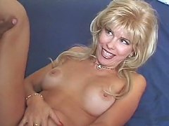 Vintage Blonde Babe Fucks a Black Guy..