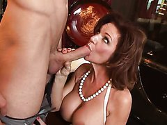 Big Tittied Red Head MILF Deauxma..