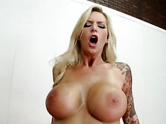 With Those Big Tits This Blonde Can't..