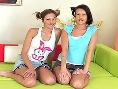 Brigi & Nikita best lesbian fucking..