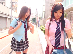Hitomi Kitagawa & Two School Mates..