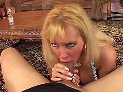 Sexy blond milf Lexxy Foxx is a..