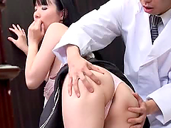 Sweet Asian girl getting fucked by a..