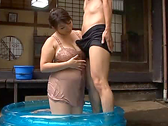 Yukari Orihara the Hot Mature Gets Wet..