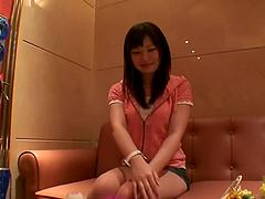 Sexy Schoolgirl Sakura Ayame Cums Loud..