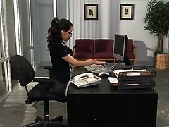 Sexy Office Slut Yurizan Beltran Shows..