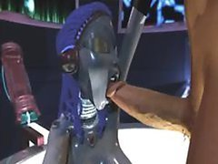 Animated Space Slut Sucks a Big Cock - Bonerific 3D Porn Clip