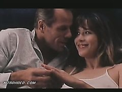 Cute Sophie Marceau And Her Man Go..