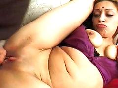 Big tits chubby pornstar Medaha Jangda..