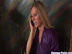 Busty Blonde MILF Devon Lee Gives Her..