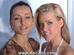 Lesbian Babe Sophie Moone Crams a..