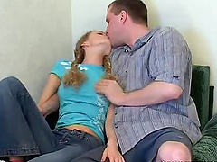 Desirable teen babe Bella fucks her BF..