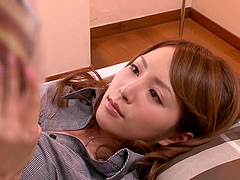 Sweet Miku Ohashi Rewards A Curious..