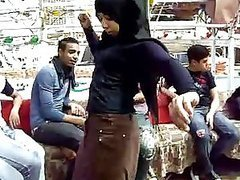 Sexy Amateur Arab Teen Belly Dancing..