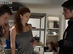 Insanely Hot Redhead Heather Vandeven..