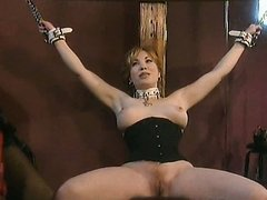 Busty Submissive Mature Gets Tied Up..