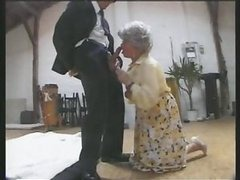 Vicious German Granny Gets Banged and..