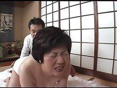Asian Granny Getting Pleasured