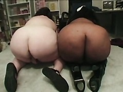 Interracial Fatty Threesome