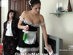Sexy Maid Fucking Her Boss with a Big..