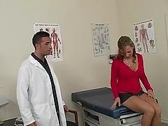 Lewd doctor Keiran Lee fucks his sexy..