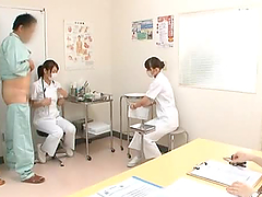 Japanese Nurses Give Great Handjobs In..