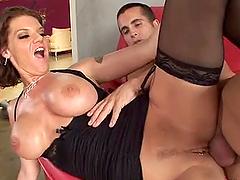 Kayla Quinn the busty MILF babe gets..