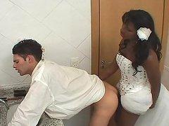Ebony Shemale Fucking Her White Fiance