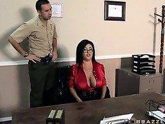 hard penetration in office