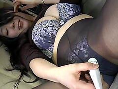 Japanese girl with juicy boobs sucks a..