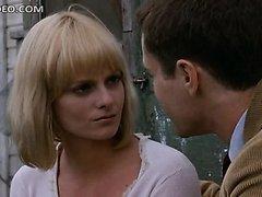 Blonde Babe Lisa Blount Wearing a..