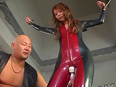Japanese BDSM with a lusty sex slave..