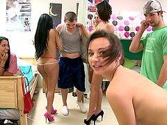 Hot Dorm Orgy With Hot Bang Bros..