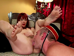 Wild Foot Fetish Action and Femdom by..