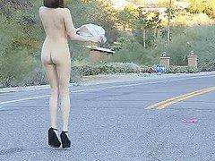 Sexiest Wild Brunette Stripping..