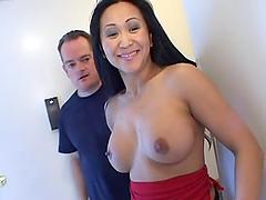 Exotic Asian slut Kitty Langdon gets..