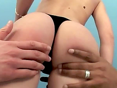 Adorable Nicole getting fucked by two..
