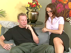 Jennifer Dark the sexy teacher getting..