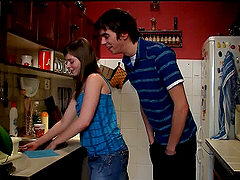 Intense Kitchen Sex With Iveta And Her..
