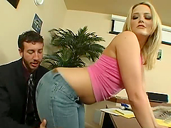 An Incredible Hardcore Scene With The Hot Alexis Texas