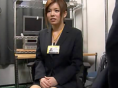Asian Office Slut Has Some Big-Ass Tits