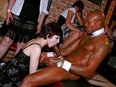 A wild sex party