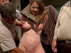 Bitch gets tied up and abused in kinky..